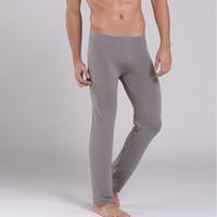 al por mayor pantalones de yoga para hombres-Pantalones Casual mayor-nuevos de la manera del sueño Las partes inferiores de los hombres suaves pantalones cómodos Homewear Yoga pijama Salón Ropa