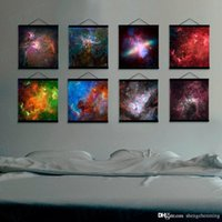 Digital printing art photography landscape - Mild Art Photography Universe Series Set Colorful Hubble Space Nebulae Galaxy Milky Way Pop Poster Bedroom Home Wall Decor Canvas Painting