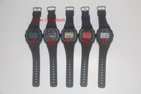 auto resin - Hot selling new arrivel fashion silicone diamond g sports watch LED watch hot selling
