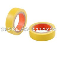 aluminium foil tape insulation - mm Wide Yellow Adhesive Electrical Insulation Tape Roll