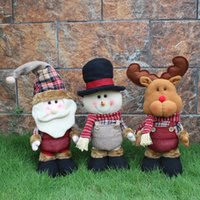 Wholesale High Quality Christmas Telescopic Elderly Doll Christmas Gifts Christmas Supplies Foreign Trade