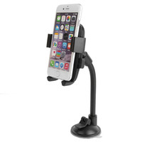 Wholesale YC039A universal car automatically locks the hose phone holder Suitable for inch inch mobile phones support Black