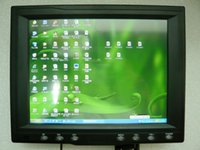 Wholesale 8 inch metal shell touch screen VGABNC industrial control monitor