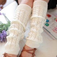 amazing boot - Amazing Colors Women Thigh High Leg Warmers Knit Boot Cuffs Leg Gaiter Natural Color Boots Socks Polyester