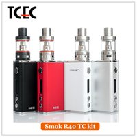 basic personal - Authentic SMOK R40 Starter Kit with Micro TFV4 Basic Tank Top Refilling mAh Capacity W Personal Vaporizer