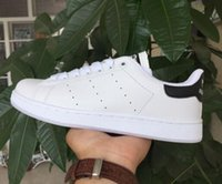 Wholesale 50 Years Classic style Stan Smith Shoes for men women Athletic Shoes White color musial Stan Smith Skateboarding Shoes