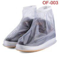 anti slip overshoes - men Portable Rain Boots Gear Anti slip Shoe Covers Waterproof Double zipper Overshoe