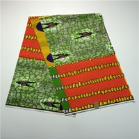 Wholesale Cotton Yards High Quality Nigerian Printed Wax Fabric African Wax Cotton Material For Patchwork Sewing
