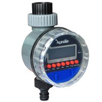 aqua controller - Aqua Smart Electronic LCD Display Home Ball Valve Water Timer Garden Irrigation Controller System