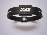 Precio de Venda de la energía equilibrio silicona-50pcs / pulsera de silicona con muchas pulseras bandas de potencia de la Salud Balance de energía pulsera con el envío libre