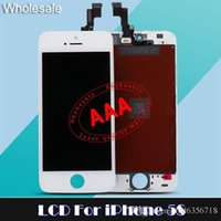 cell parts - LCD Display Digitizer For iPhone S LCD Touch Screen For G LCD Digital Cell Phones Panel replacement repair parts For iPhone C DHL
