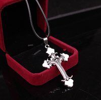 best mens necklace - 24pcs pendant necklace alloy stainless steel best selling steel big men s cross style fashion pendant mens charm pendant