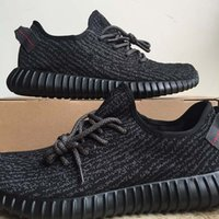 b photos - New Kanye West Shoes Boost Fashion Shoes Kanye West Boost Pirate Black Turtle Dove Running Shoes Real Photos