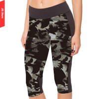 american apparel yoga pants - JIS Fitness Pants Women Sexy American Apparel Running GYM Pants Leggings Punk Style Eagle Printed Thin Cropped Yoga Pants