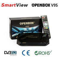 Wholesale Original Openbox V9S V9 HD DVB S2 Satellite Receiver Support WEB TV Biss Key USB Wifi G CCCAMD NEWCAMD Free IPTV Factory direct sale