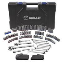 Wholesale 138 pc KOBALT SAE Metric Ratchet Socket Wrench Mechanic Tool Set