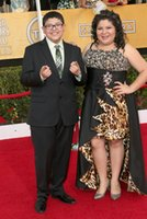 animal actor - Animal Print High Low Plus Size Celebrity Prom Dresses Raini Rodriguez Crystal Beaded Strapless Screen Actors Guild Awards