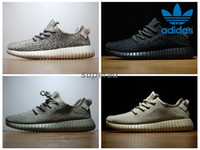 turtle - 2016 adidas yeezy boost pirate black turtle dove moonrock oxford Tan Men Women Running Shoes kanye west Yeezy yeezys season