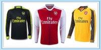 adult soccer leagues - Long Sleeve Best Thailand Quality Arsenalls Mens Adult Soccer Home Away rd Jerseys Premier League Shirts Maillot de Foot