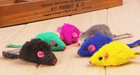 Wholesale Cute Mini Style Cat Favourite Toy Mouse Animal Shape Cute Pet Toys for Cats Drop Shipping Fast Delivery Time cm Length