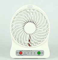 Wholesale dannywholesale New Product idea Usb Table Rechargeable Mini Fan with Led Lights