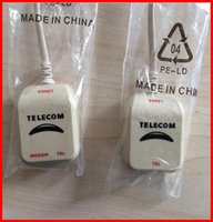 Wholesale ADSL Filter Spliter DSL Cable VDSL modem XDSL connector RJ11 Telecom Thomson Technicolor Rohm VDSL2 Telephone