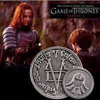 bag man game - Game Of Thrones The coin A Song of Ice and Fire Faceless Man Coin with gift bag movie jewelry
