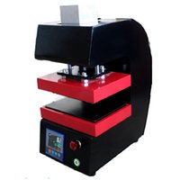auto press machine - 2016 new arrival electric Auto dual heat plates rosin heat press machine LCD panel No need compressor