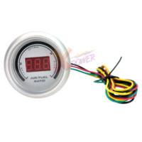 Wholesale Xpower White Auto Car quot mm Air Fuel Ratio Red Digital Color LED Gauge Meter NEW