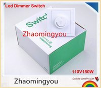 Wholesale LED Dimmer Switch V W Brightness Driver Dimmers For Dimmable LED lighting lamp