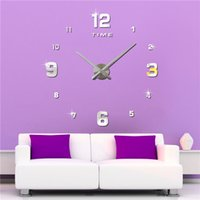 art deco house design - Factory Direct Sell Modern Design Fashion Brands New Art Deco Wall Clock for Living Room Bed Room Home House M005