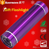 Wholesale Lomon Mini Gift Multifunction Outdoor Knife Emergency Torch Led LED flashlight Minilight in stock