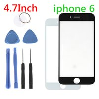 Wholesale Front Outer Lens Glass Screen Replacement for Apple iPhone Inch with Repair Tools IPA_760
