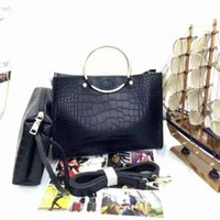 Wholesale Hot sale new style classic fashion women bag shoulder bag PU Alligator handbag handbags bags