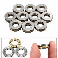axial thrust ball bearing - 10pcs F8 M x16x5mm Axial Ball Thrust Bearing mm x mm x mm