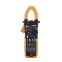 Wholesale Professional Counts Auto Ranging Digital AC Clamp Meter with Backlit Similar with Fluke ClampMeter PEAKMETER MS2008B Multimeter