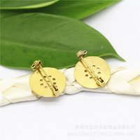 Wholesale DIY accessories mm Brooch supporting safety pin PS00231