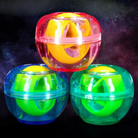 Wholesale Grip Fitness Ball Movement Powerball Gyro Super Ball That Force Control Grip The Ball Wrist is Llluminated Wrist Ball