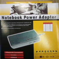 Wholesale 100 hot selling Laptop Charger Adapter Universal PC Netbook Power Supply Notebook Computer