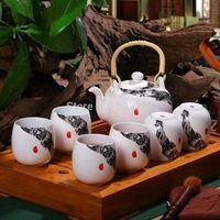 Wholesale Jingdezhen ceramic tea set exquisite tea cup
