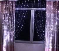 Wholesale 3Mx3M LED Outdoor Indoor Christmas Wedding Party Fairy Lights Curtain Lights