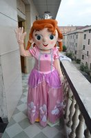 Cheap factory outlets Sofia Princess Anne COS mascot costume adult costume Halloween costume Christmas party cartoon Private custom size clothing