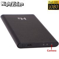 Wholesale H2 P HD Spy DVR Hidden Night Vision Camera Mobile Power Bank Video Recorder mA Mobile Power Bank Video Recorde