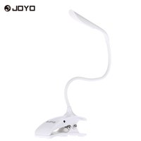 Wholesale JOYO Adjustable LED Music Stand Light Lamp Levels of Brightness Rechargeable with USB Cable High Quality Portable Clip On
