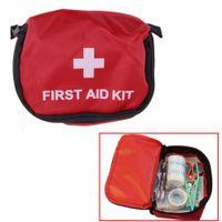 bag drug - First Aid Kit L Red Camping Emergency Survival Bag Bandage Drug Waterproof
