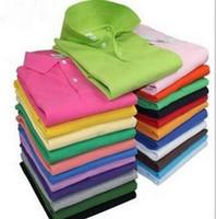 Wholesale men polos brand summer crocodile embroidery Polo Shirt Men Short Sleeve Casual Shirts Man s Solid Polo Shirt Plus XL men tees Camisa Polo
