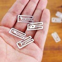 Wholesale 20 Mini Metal Bookmarks Office School Book Note Clip with Cute Case Box FG17509