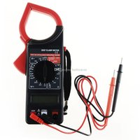 Wholesale DT F6 LCD Digital Clamp Ammeter AC DC Voltmeter Ohm Insulation Multimeter B00351 SPDH