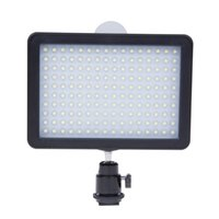 Wholesale 12W Dimmable WanSen LED Video Camera Light Photographic Lamp K K For Canon Nikon DSLR Camera Camcorder