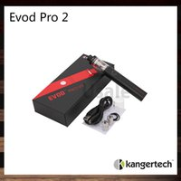air slide design - Kanger Evod Pro Starter Kit All in One Design ml Capacity and mah Built in Battery Sliding Symmetrical Air Flow Valve Original